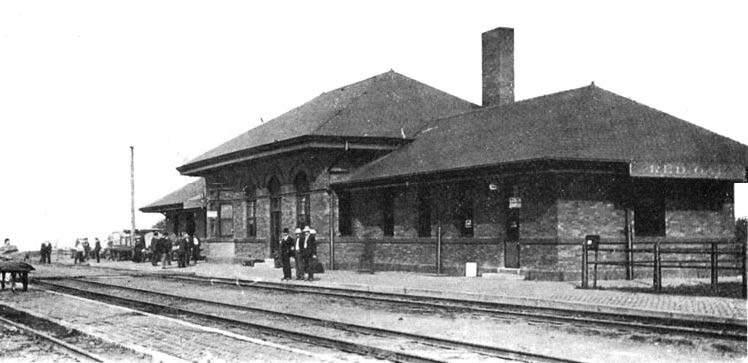 Burlington Northern Depot & WWII Museum