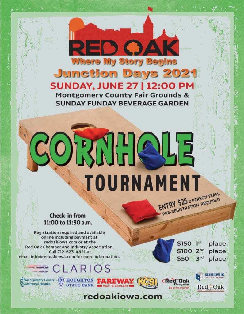 Junction Days Cornhole Tournament