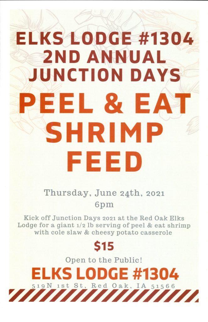 Peel & Eat Shrimp Feed