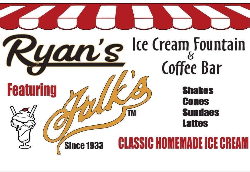 Ryan's Falks Ice Cream Fountain & Coffee Bar