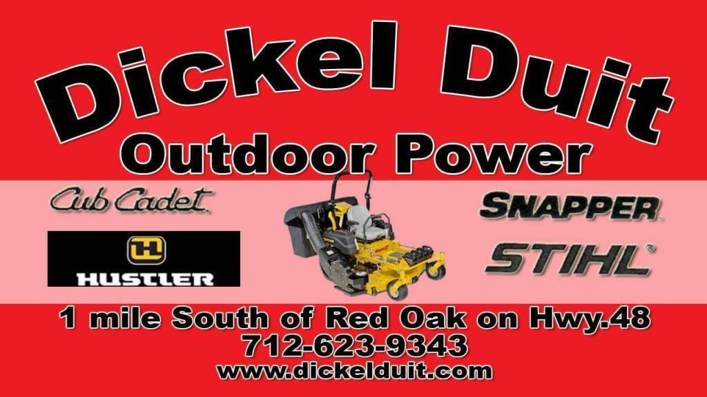 dickel duit outdoor power red oak